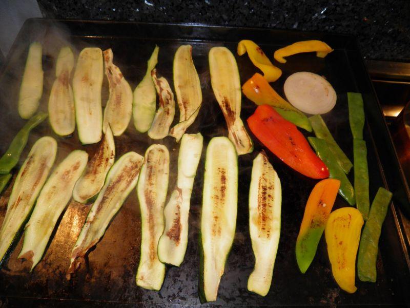 La cuisine des barth archives du blog l gumes grill s - La cuisine a la plancha ...